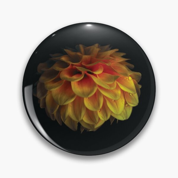 Fire Flower Pin