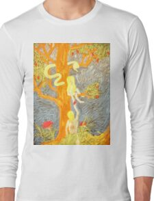 The Temptation of Adam and Eve Long Sleeve T-Shirt