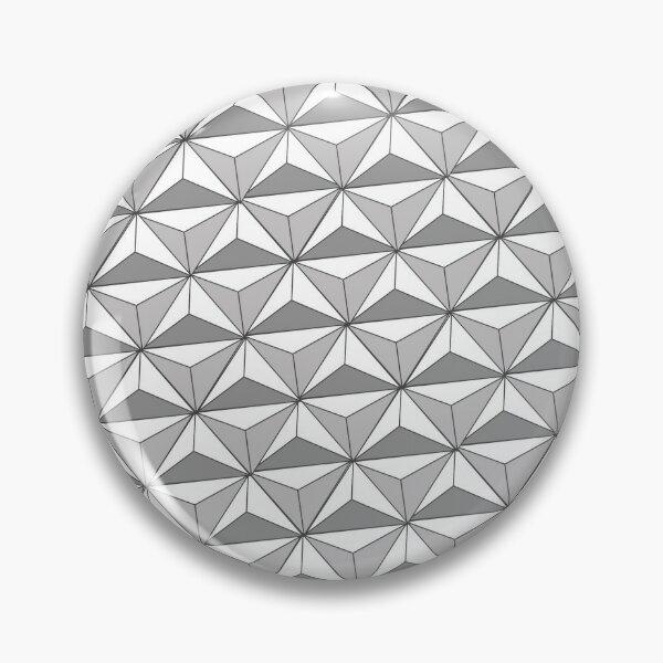 Spaceship Earth (light) Pin