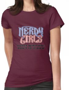 Nerdy Girls 011 - DBAD Womens Fitted T-Shirt