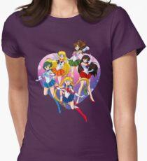 Bishoujo Senshi Women's Fitted T-Shirt