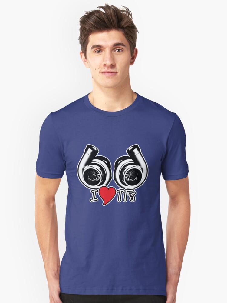 I Love TT's Unisex T-Shirt Front