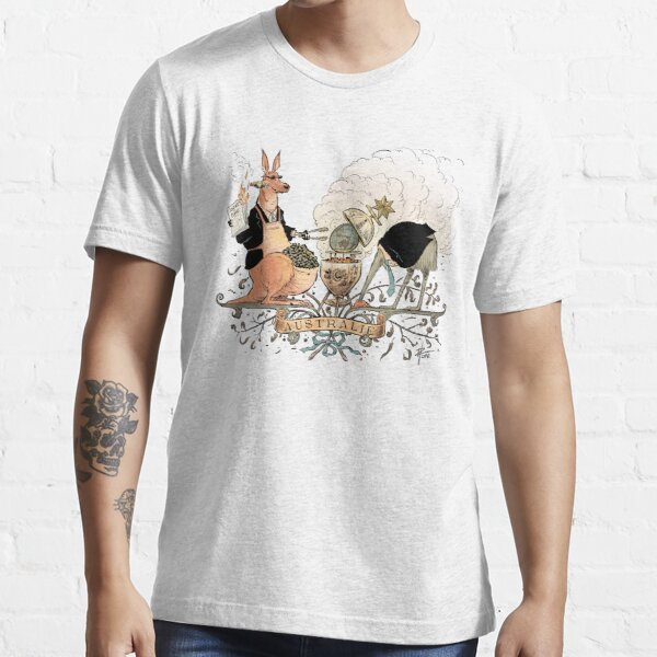 Australia's climate policy coat of arms Essential T-Shirt