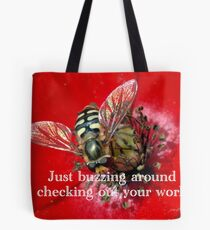Moderating Image Only Tote Bag
