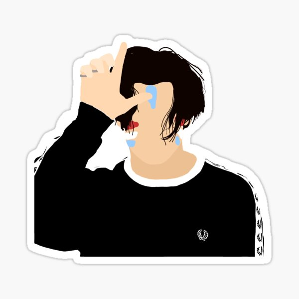 Yungblud Block Colour Loser Sticker