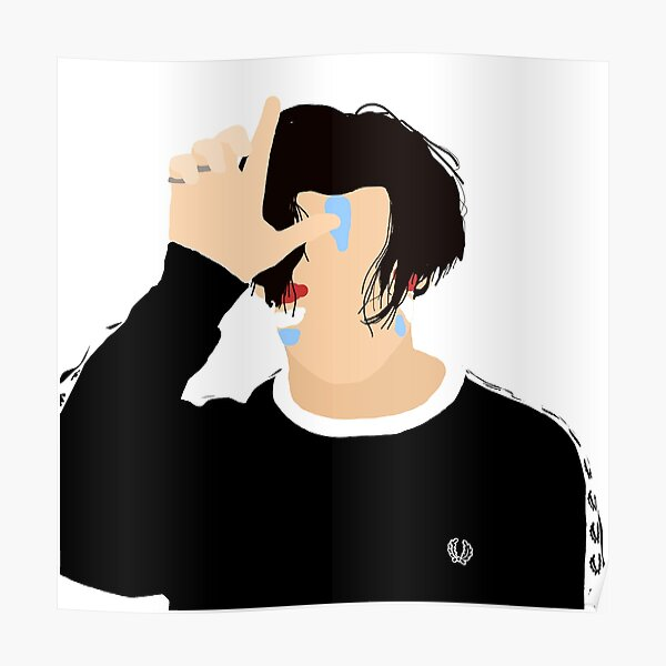 Yungblud Block Colour Loser Poster