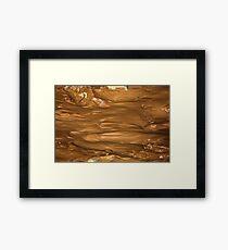 Wet Mud Framed Print