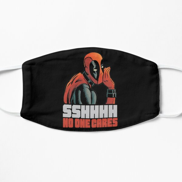 Funny Gifts Deadpool's SHHH No One Cares Whisper Mask