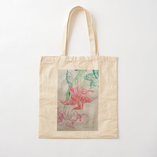 Summer Blooms  Cotton Tote Bag