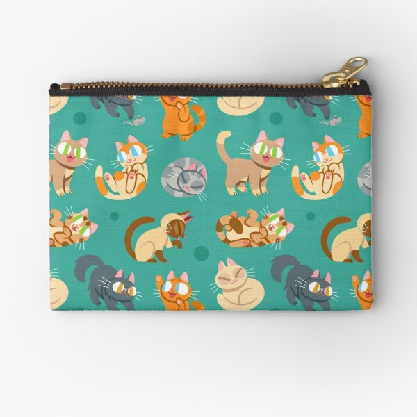 Whole Lotta Cat (Natural version) Zipper Pouch
