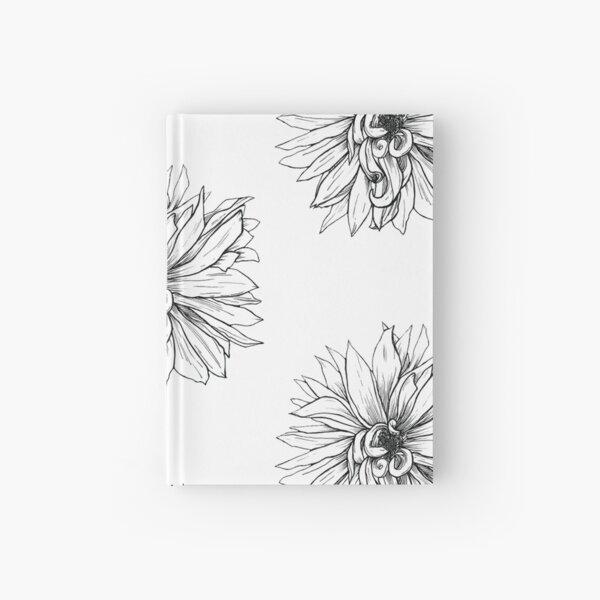 Curling Petals Hardcover Journal