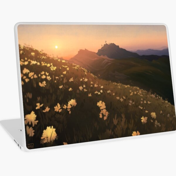 Spring Sunrise Laptop Skin