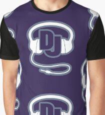 DJ head set simple graphic Graphic T-Shirt