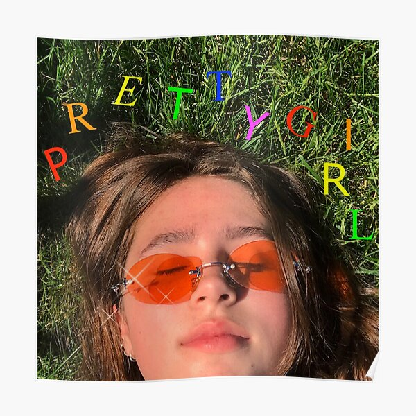 Clairo - Pretty Girl Album Cover Poster
