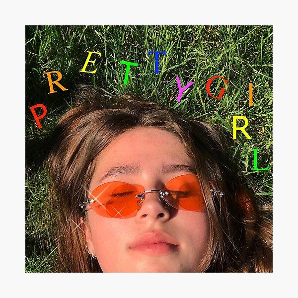 Clairo - Pretty Girl Album Cover Photographic Print