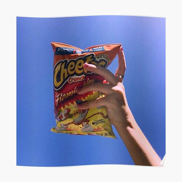 Clairo - Flaming Hot Cheetos Album Cover Poster