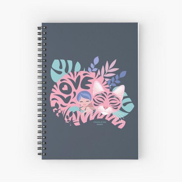 Love Cats  Spiral Notebook