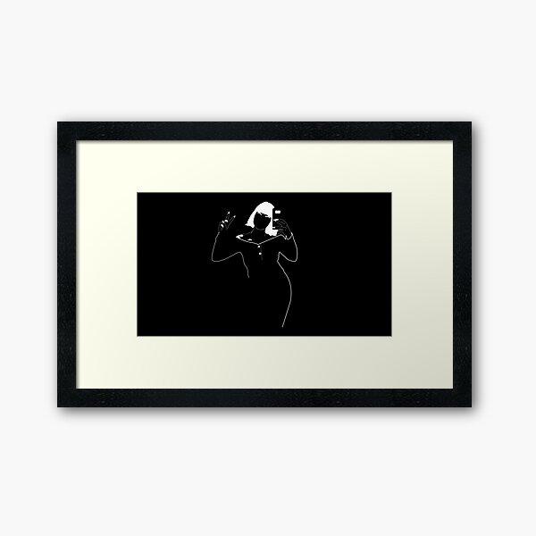 Vampy Vibes Alt Framed Art Print