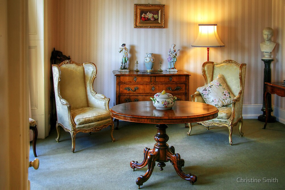 The Drawing Room at the Heights by Christine Smith