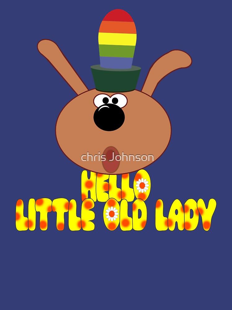"""Chorlton-""""Hello, Little Old Lady""""   Unisex T-Shirt"""