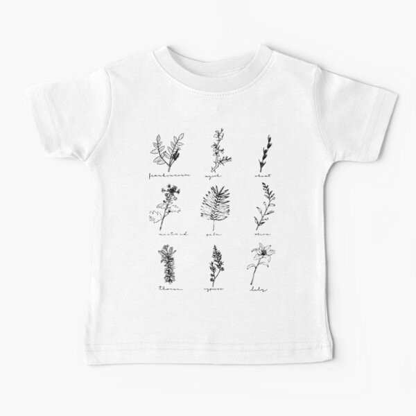 Botanicals of Christ Baby T-Shirt