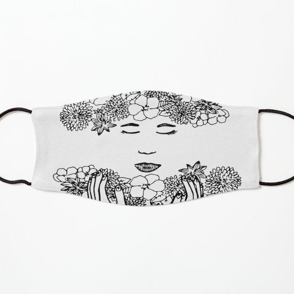 Floral Meditation Kids Mask