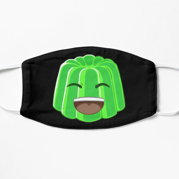 Jelly Plays Roblox With Santa Roblox Face Masks Redbubble