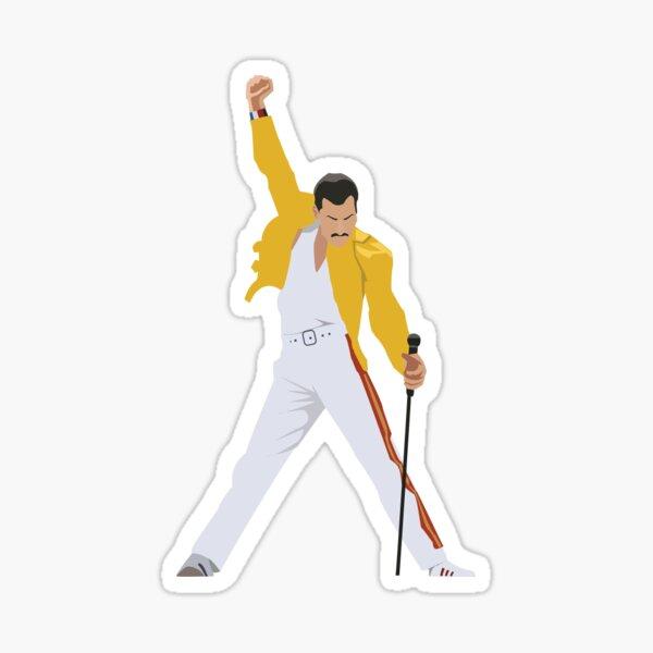 Freddie Mercury Sticker Sticker