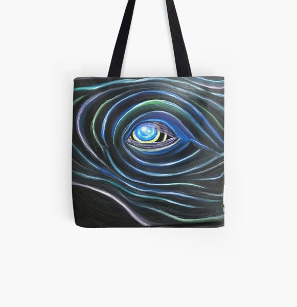 Someone is Singing All Over Print Tote Bag