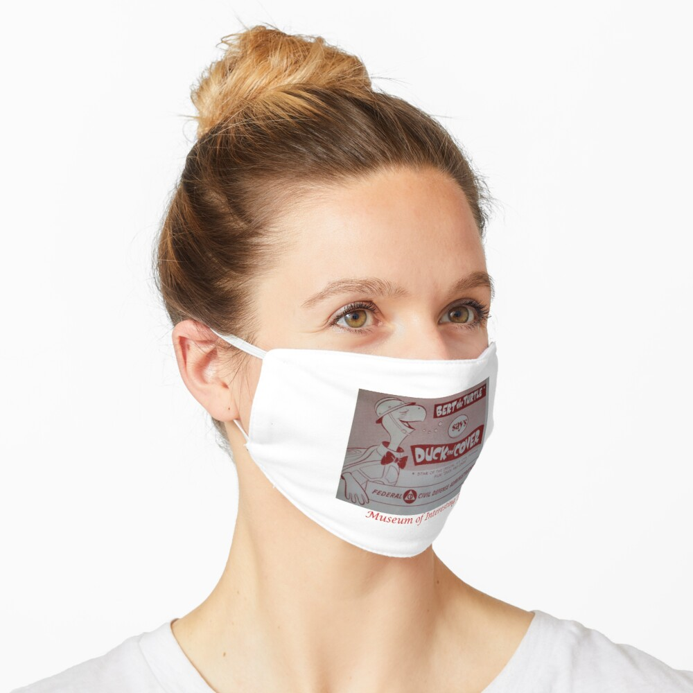 Duck and Cover Mask