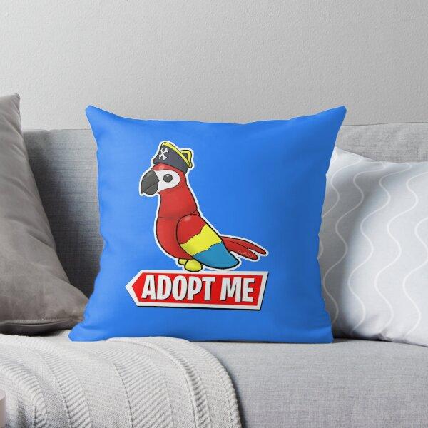 Adopt Me Pirate Parrot Throw Pillow
