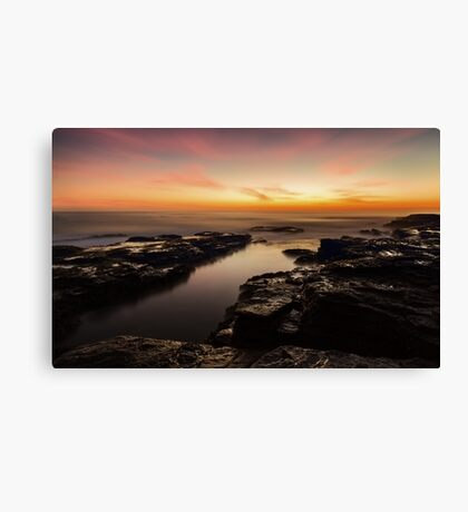 Light in the Channel Canvas Print