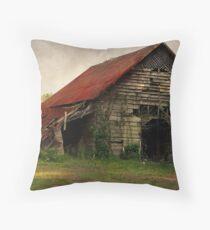 The Old Country Barn Throw Pillow