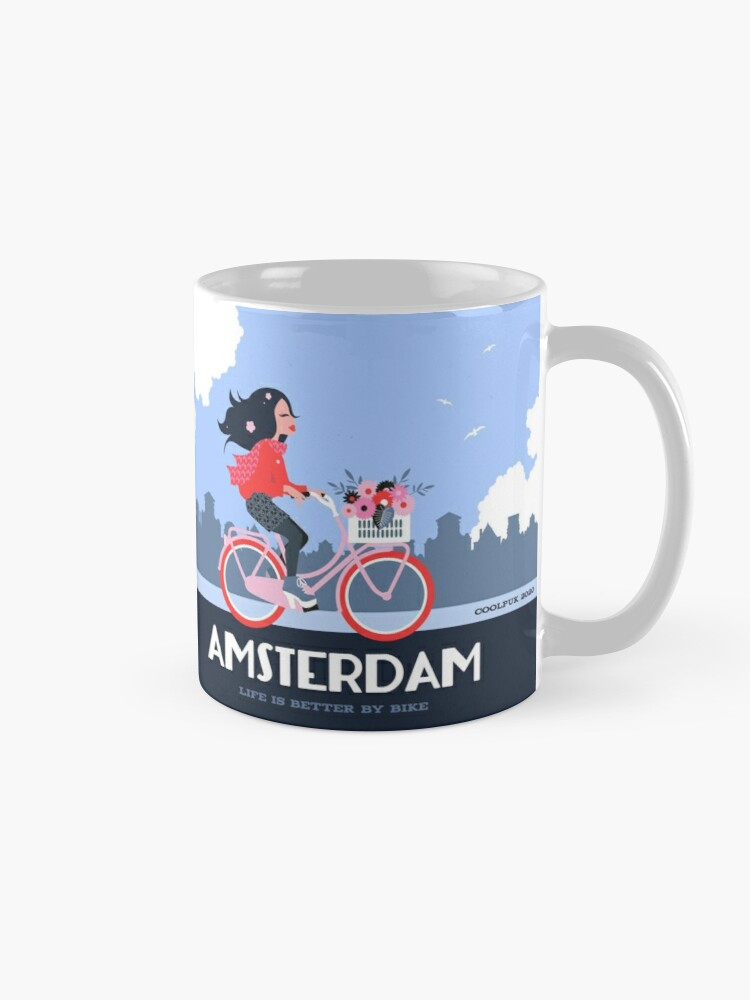 Alternate view of Amsterdam Bike Life Mug