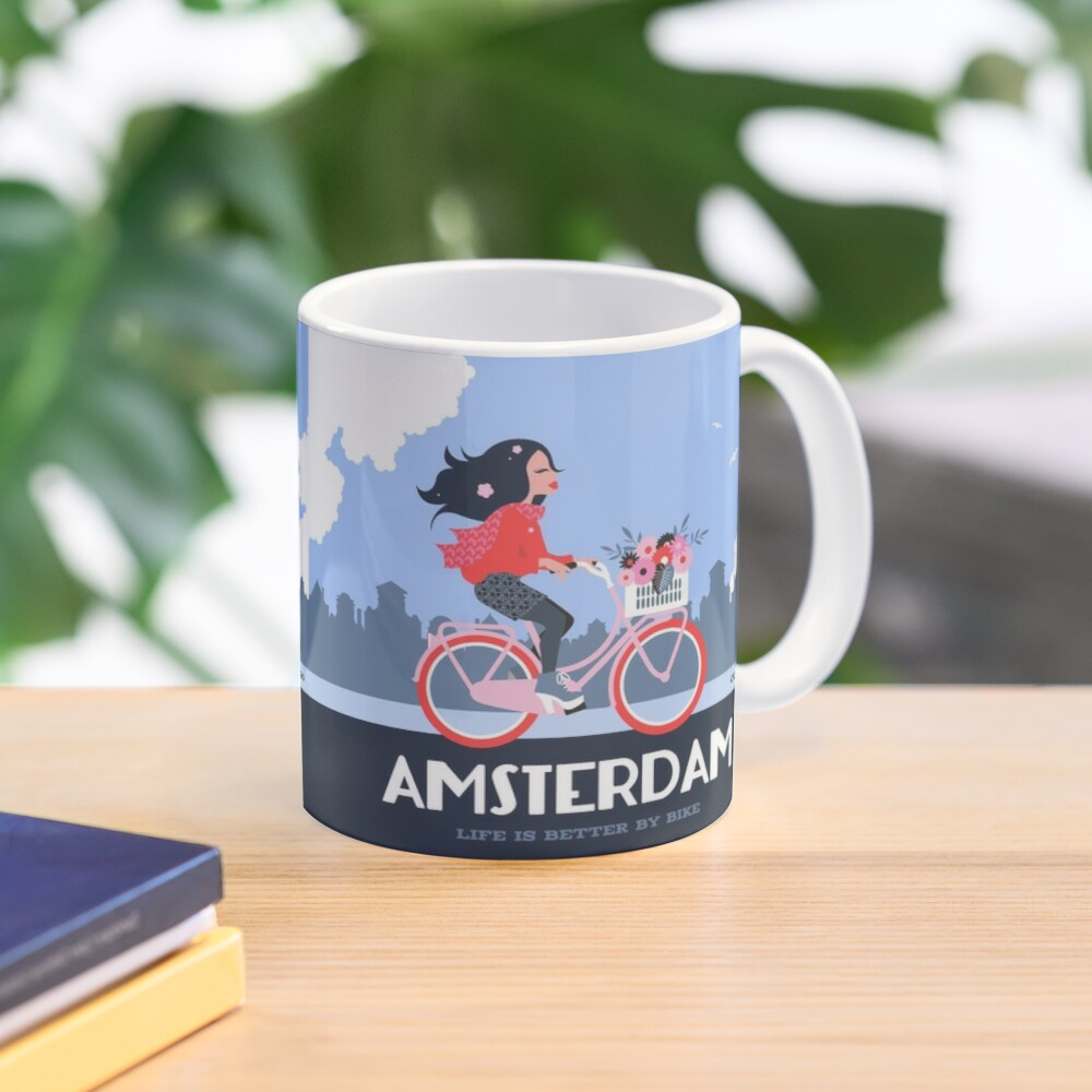 Amsterdam Bike Life Mug