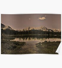 Buller Pond, Kananaskis Country Poster