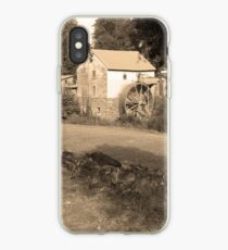 Sepia Old Red Mill iPhone Case