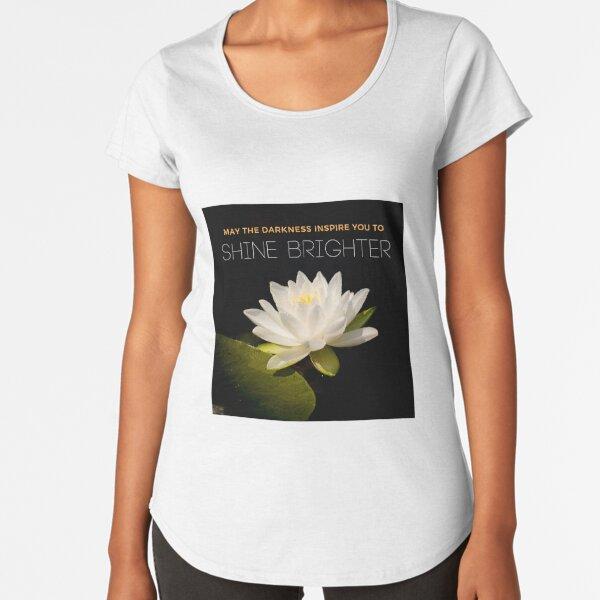 Shine Brighter Premium Scoop T-Shirt