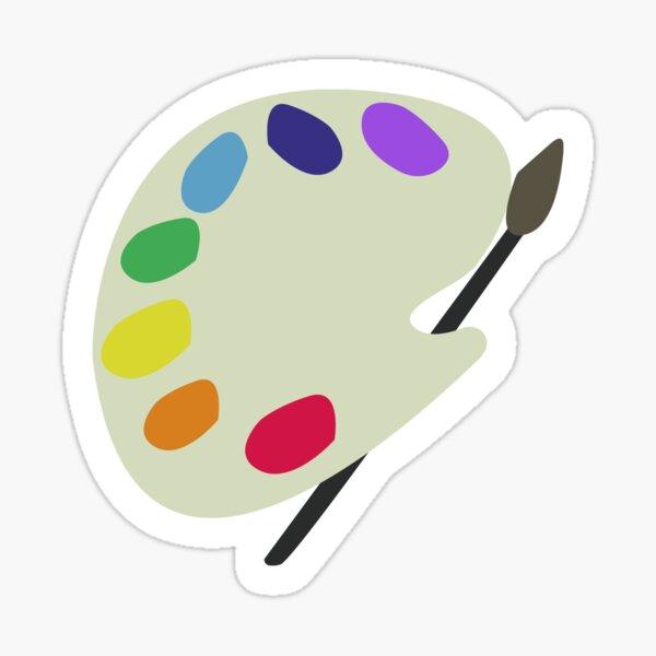 paint pallete Sticker