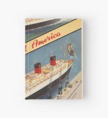 Weinleseplakat - Cunard Notizbuch