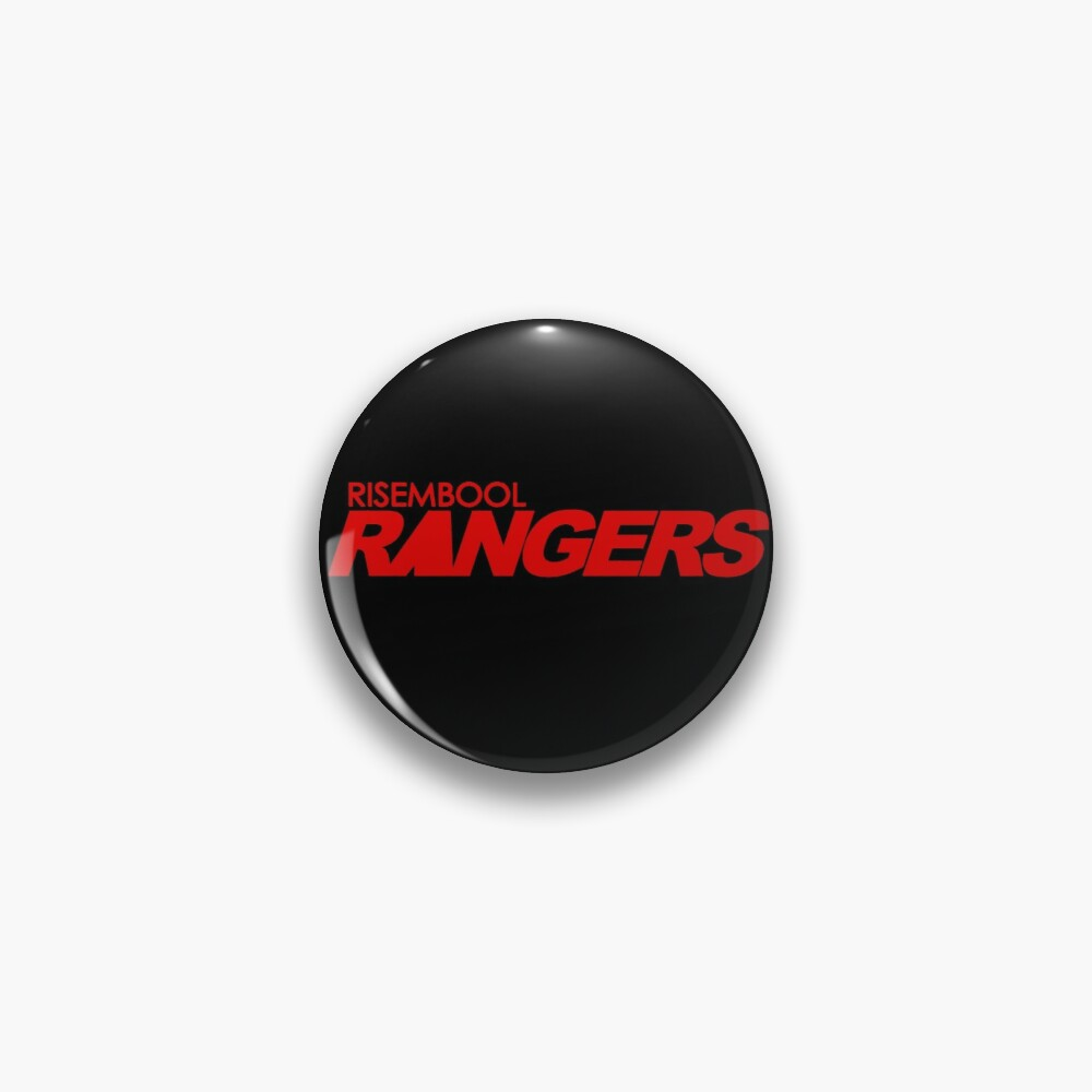 Risembool Rangers Red Logo Pin