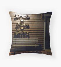 Belushi Pisano Gallery Bench Throw Pillow