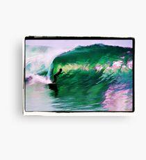 Surfing Huntington Beach Canvas Print
