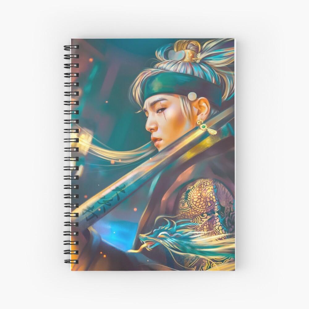 Agust D Daechwita Spiral Notebook