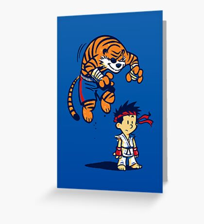 Tiger! - POSTER Greeting Card