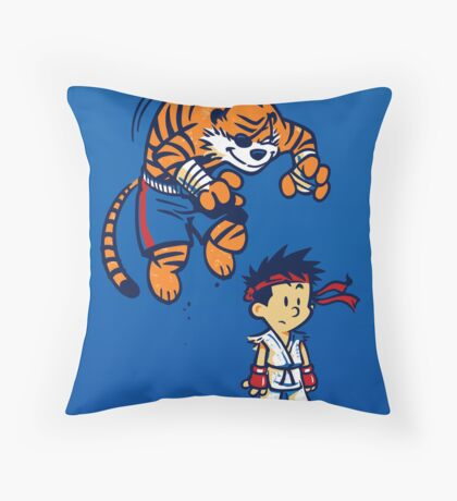 Tiger! - POSTER Throw Pillow