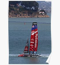 Emirates Team New Zealand in San Francisco Poster