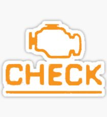 The Elusive Check Engine Light Sticker