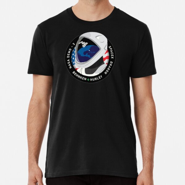 SpaceX NASA Crew Dragon DM-2 Mission Patch Premium T-Shirt