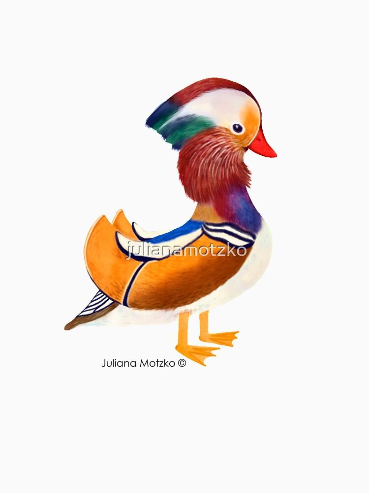 Mandarin Duck by julianamotzko